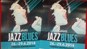Kalottijazz 2014 -festivaalin julisteet.