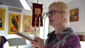 Ortodoksisen seurakunnan kanttori Helena Matsi