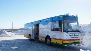 Kirjastoauto-Girjebusse