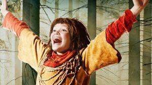 Ronja Ryövärintyttären pääosassa on Sanni-Mari Kanto.