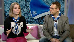 Timo Sinivuori ja Anniina Rantala