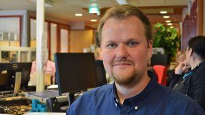 Yle Kainuun päällikkö Aki Karjalainen.
