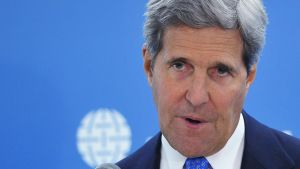 John Kerry puhuu Atlantin neuvostossa, Washingtonissa 29. huhtikuuta 2014.