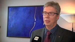 Seinäjoen kaupunginjohtaja Jorma Rasinmäki.