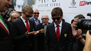 Kimi Räikkönen ja Fernando Alonso