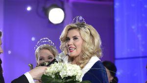 Bea Toivonen valittiin Vuoden 2014 Miss Suomeksi finaalissa Kirkkonummen Långvikissä sunnuntaina illalla 4. toukokuuta 2014.