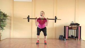 Paula Mattila, LadyLine, kuntoilu, painonnosto, urheilu