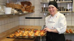 Hotelli -ja ravintola-alan opiskelija Heli Sumen