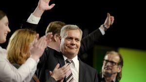 SDP:n uusi puheenjohtaja Antti Rinne piti linjapuheensa puolueen kokouksessa Seinäjoella lauantaina 10. toukokuuta.