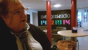 Toimittaja Erpo Heinolainen työskentelee Sisu-radiossa Uumajassa.