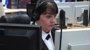 Hätäkeskuspäivystäjä Marjatta Tuori.