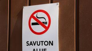 Tupakointi kielletty