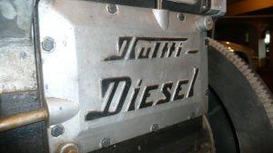 Vaasalainen Kultti-dieselmoottori.