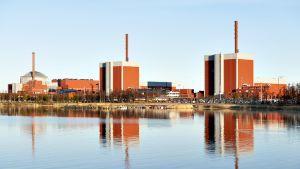 Olkuluodon ydinvoimala.