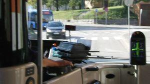Näkymä bussista.
