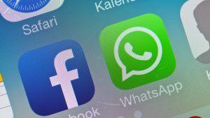 Facebook-sovellus matkapuhelimessa.