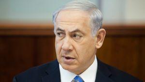 Israelin pääministeri Benjamin Netanjahu viikottaisessa kabinetin kokouksessa Jerusalemissa 1. kesäkuuta 2014.