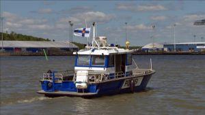 Venepoliisin käytössä oleva vene.