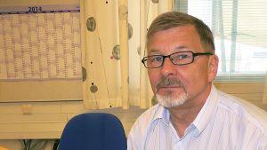 Itellan Lapin alueen pääluottamusmies Markku Hirvioja