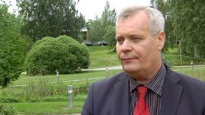 SDP:n puheenjohtaja ja valtiovarainministeri Antti Rinne.