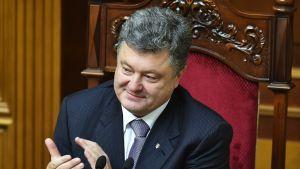 Presidentti Petro Porošenko.