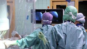 Länsi-Pohjan keskussairaalan leikkaussali.
