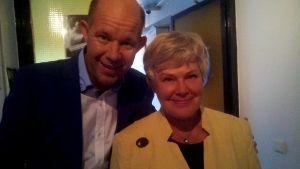 Kaj Kunnas ja Elisabeth Rehn 2010