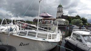 Viipuri Viipurin linna huvivene vene Venäjä