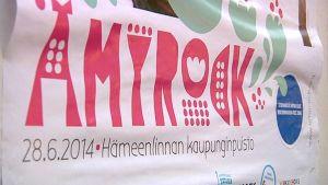 Ämyrock-juliste 2014.