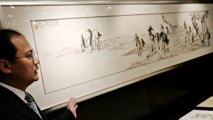 Xu Beihongin kahdeksan hevosta -teos.