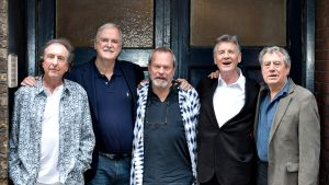 Eric Idle, John Cleese, Terry Gilliam, Michael Palin ja Terry Jones.