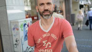 Bogdan Ionescu kuvattuna Kölnissä 1. heinäkuuta 2014.