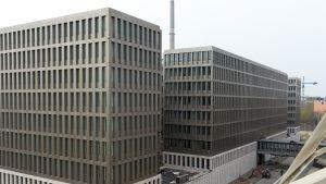 Saksan tiedustelupalvelun, BND:n päämaja Berliinissä.