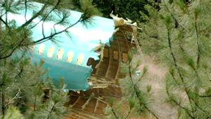 Junaonnettomuudessa tuhoutunut lentokoneen runko.