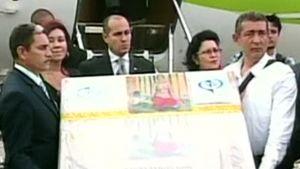 'Odalisque in Red Trousers' -maalaus palasi Venezuelaan.