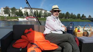 Rovaniemen veneilijät ry:n perustajajäsen Pekka Muhojoki