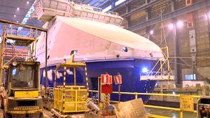 Arctech Helsinki Shipyard telakka.