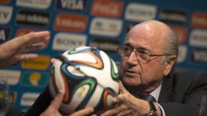 Kansainvälisen jalkapalloliiton puheenjohtaja Sepp Blatter.