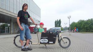 Markku Eilola-Jokivirta esittelee pyöräänsä