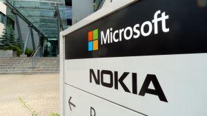 Microsoftin päärakennus Oulun Peltolassa.