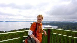 Janne Sandholm, Padasjoki, frisbeegolf, näköalatorni, Päijänne