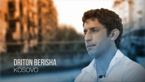Ajankohtaisen kakkosen Nuoret ja rohkeat -sarjassa esitellään romaniaktivisti Driton Berisha Kosovosta