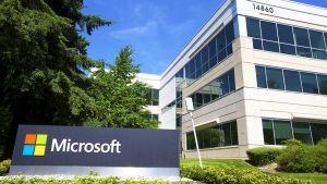 Microsoftin päämaja Redmondissa, Washingtonissa, heinäkuussa 2014.