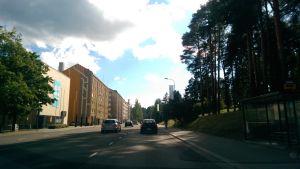 Yliopistonkatu Jyväskylässä.