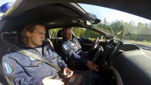 Oulun poliisi testaa automaattista rekisterikilpien lukulaitetta alueellaan.