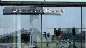 Danske Bankin konttori Malmössä, Ruotsissa.