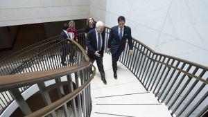 Senaattori John McCain (vas.) Washingtonissa 24. heinäkuuta.