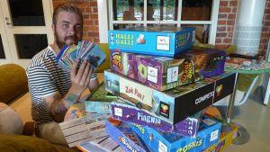 Hippalot 2014 teemana ovat pelit ja leikit. kuvassa Antti Koski