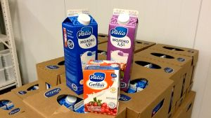 Valion maitoa Venäjän markkinoille.