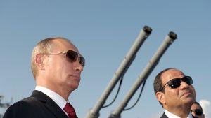 Putin, tykin piiput ja al-Sisi